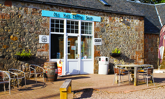 Coffee Shop at Scottish Island Estate Raffle
